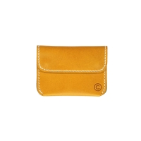 [CURB] Button Card Wallet /Yellow