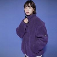 LT328_Pullover Anorak Fleece_Purple