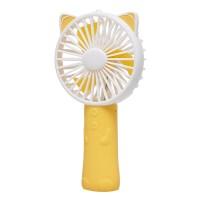 [피터젠슨] 큐티 LED 핸디 선풍기 옐로우 PPM73LE09M_YE_(1400336)