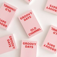 GROOVY DAYS DIARY - New Pink