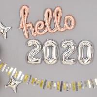 은박풍선세트 2020 [소] 실버