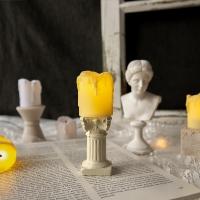 클래식 감성 소품 로마 신전 기둥