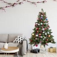 크리스마스 트리 비앙코 스노우 레인보우 오너먼트 세트_(2284930)