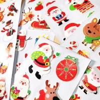 크리스마스 롱 데코 스티커 랜덤(낱개)