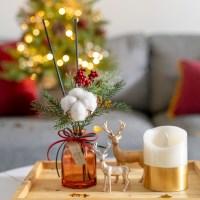크리스마스 파인베리 디퓨저 고급포장 선물용 방향제 식_(1532579)