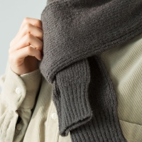 knit mini muffler (3 colors)