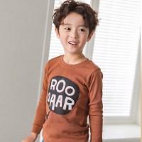 [따솜] 브라운공룡 9부 30수 후라이스 유아동 상하의세_(1491251)