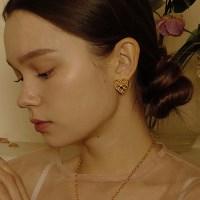 Starry Heart Earring