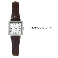 [MARCO SIENA] 마르코시에나 여성시계 MS0210SWD 가죽밴드 손목시계