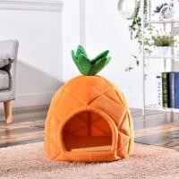5H펫 길냥이 고양이 겨울집 파인애플 하우스