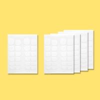 젤네일팁용 양면테이프 5매-120tap (B타입)
