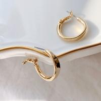 웨이브 데일리 링귀걸이_ daily ring earring(2color)