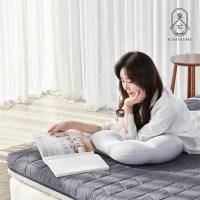 로미홈 9존 마약매트리스 접이식 침대 바닥 토퍼 메모리폼