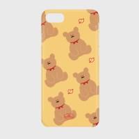 adult bear pattern yellow 하드케이스_(878239)