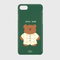 pajamas khaki slow bear 하드케이스_(878235)