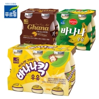 가나초코/바나나/바나나킥우유/혼합구성 우유225ml*12개_(2233807)