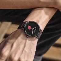 [쥴리어스 옴므] JAH-112 남성시계 손목시계 가죽밴드