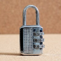 강철 비밀번호 자물쇠/사물함열쇠 번호키 자물통 열쇠