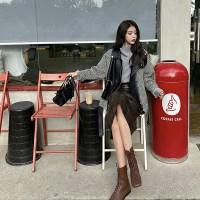 코디가 편한 캐주얼 스트릿 라이더 모직 자켓