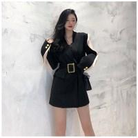 금장 투톤 트렌치 캐주얼정장 자켓코트