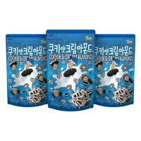 쿠키앤크림 아몬드 190g_3봉