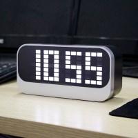 LED 디지털 탁상시계/온도 날짜 알람시계 무소음시계
