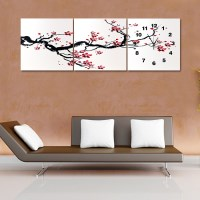 봄의 상징 인테리어 벽시계/ 선물용 벽걸이시계 모델하우스