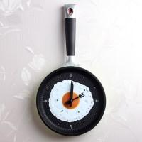 후라이팬 벽시계(저소음) 인테리어 벽시계 시계