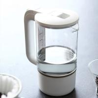 깨끗함을 담다 무선 유리 전기주전자 커피 포트