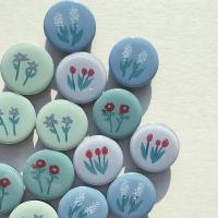 그려낸 꽃 그립톡