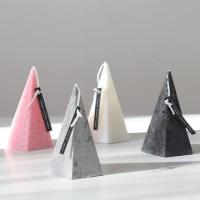 피라미드 캔들 인테리어 양초 향초 답례품