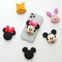 디즈니 페이스 팝톡 스마트폰 거치대 미키마우스 곰돌이푸