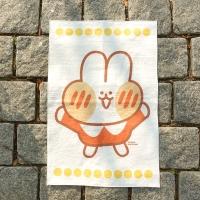 달고나 패브릭 포스터