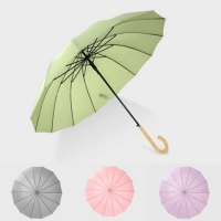 튼튼한 자동 장우산 3단우산 2type