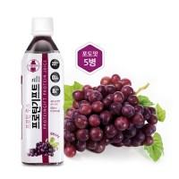 [행복담은식탁 ]단백질음료 프로틴기프트 포도맛 500mlx5병