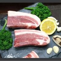 독일산 돼지고기 [보쌈용 삼겹살] 500g_(1572447)