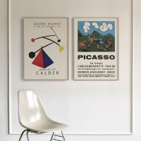 명화 빈티지 전시회 포스터 15종 - 피카소 앙리마티스 마크로스코 등