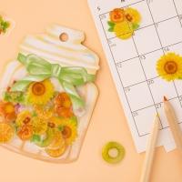 [CRUX sticker] Cherie fleur_옐로우