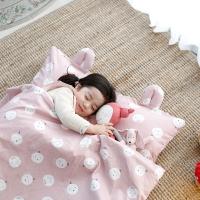 어린이집 필수 준비물 꿈두부 일체형 낮잠이불 3종