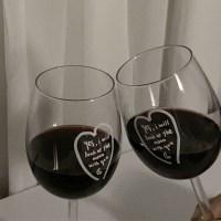 moon with you (wineglass) 1ea
