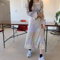 엔유플라워 dress (2color)