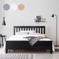 핀란드산 소나무원목 피카소 침대 4컬러 Q