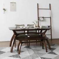 [버킷] A형 4인용식탁/테이블 세트_(1492710)