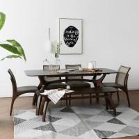 [버킷] A1형 6인용식탁/테이블 세트_(1492704)