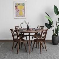 [헤리티지월넛] A1형 원형식탁/테이블 세트_(1492703)