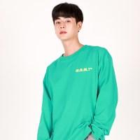 (UNISEX)Crack M Lettering T-shirt(MINT)