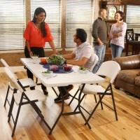 라이프타임 접이식 테이블 T5011 야외 실내 테이블