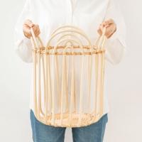 라탄 수납 햄퍼 빨래함 (높이 40cm)