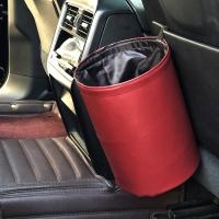 접이식 자동차 방수 휴지통