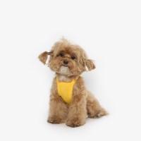강아지 쿨링 여름옷 끈나시티 (옐로우)